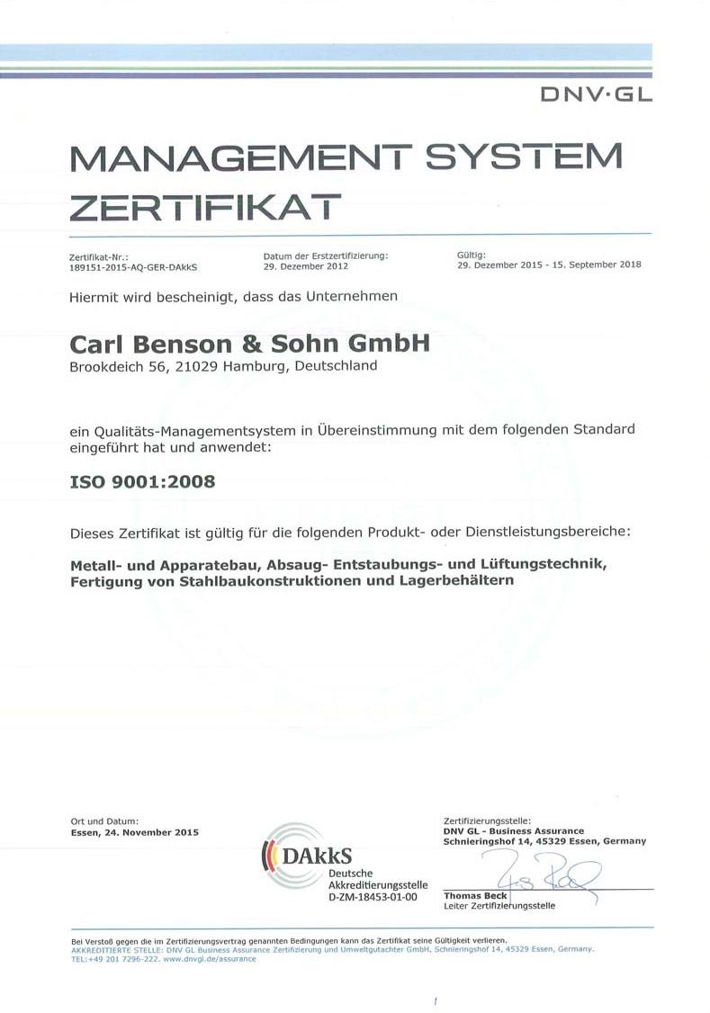 carl-benson-zertifikat-ISO-9001-2008